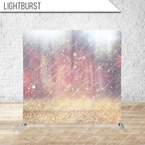 Single-sided Pillow Cover Backdrop  (Lightburst)