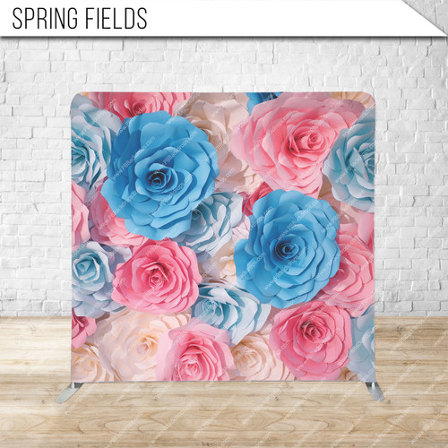 Single-sided Pillow Cover Backdrop  (Springfields)