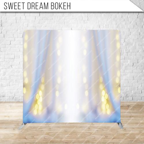 Single-sided Pillow Cover Backdrop  (Sweet Dream Bokeh)