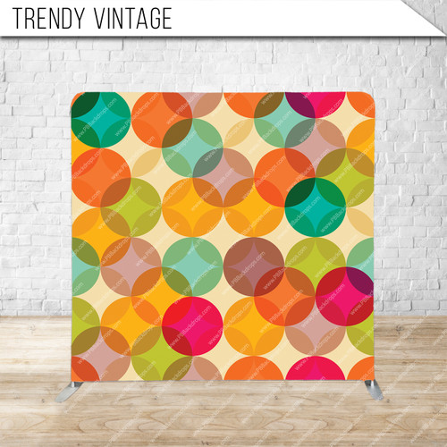 Single-sided Pillow Cover Backdrop  (Trendy Vintage)
