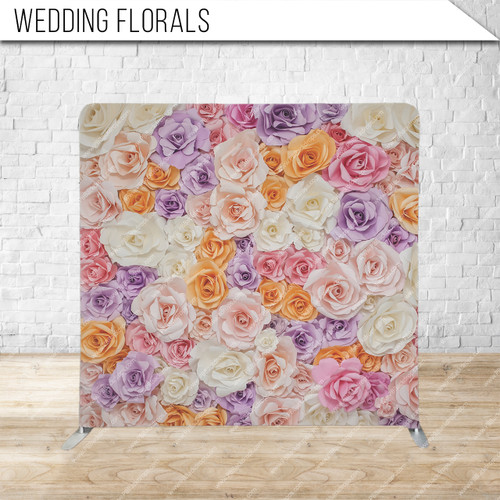 Single-sided Pillow Cover Backdrop  (Wedding Florals)