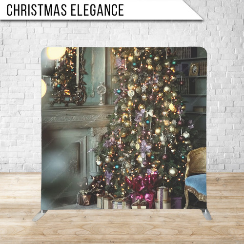 Single-sided Pillow Cover Backdrop  (Christmas Elegance)
