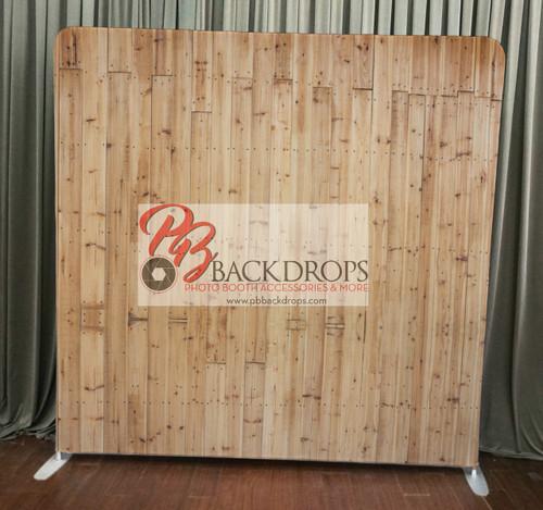 Single-sided Custom backdrop - Light Wood | PB Backdrops