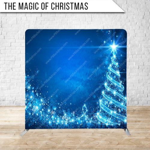 Single-sided Pillow Cover Backdrop  (The Magic of Christmas)