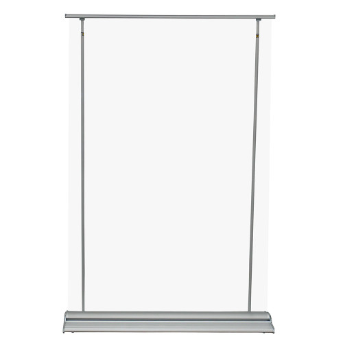 48 x 80 in. SilverStep® Silver Base Clear Banner Package