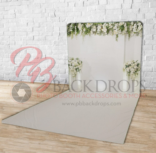 Continuous-length Floordrop Pillow Cover