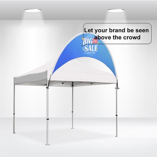 Curve Tent Billboard Banner
