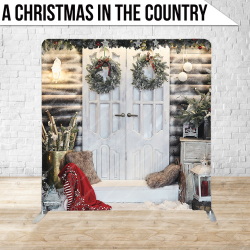 Single-sided Pillow Cover Backdrop  (A Christmas in the Country)