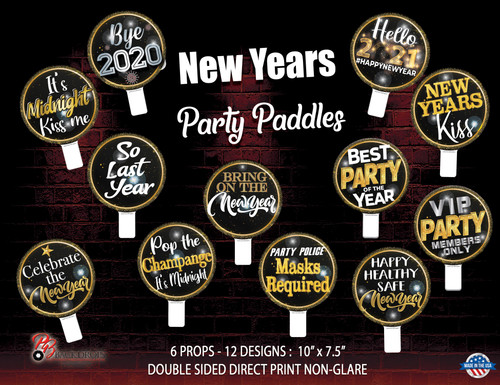 New Years Party Paddle Bundle