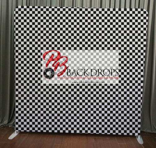 Single-sided  backdrop - 80's Checkerboard | PB Backdrops