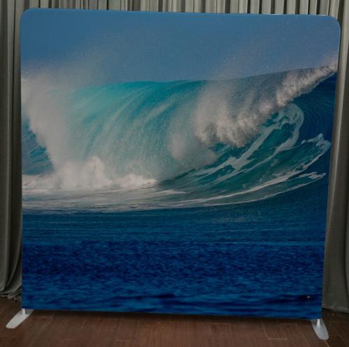 Single-sided Custom backdrop - Silk Wave | PB Backdrops