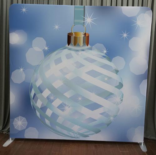 Single-sided Custom backdrop - Christmas Ornament | PB Backdrops