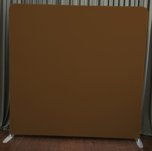 Single-sided Custom backdrop - Brown | PB Backdrops