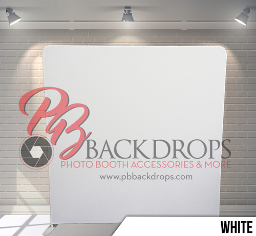 Single-sided backdrop (White)