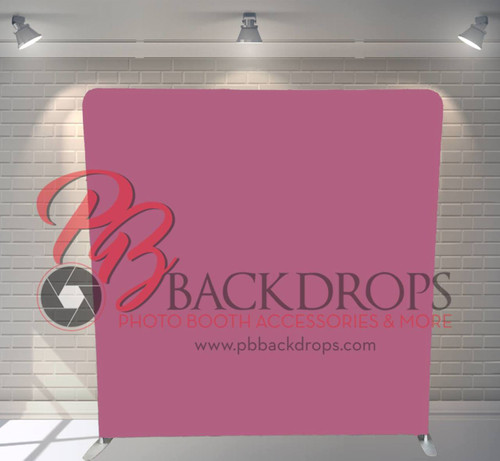 Single-sided Custom backdrop - Pink | PB Backdrops