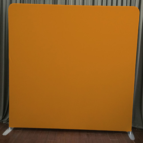 Single-sided Custom backdrop - Orange | PB Backdrops