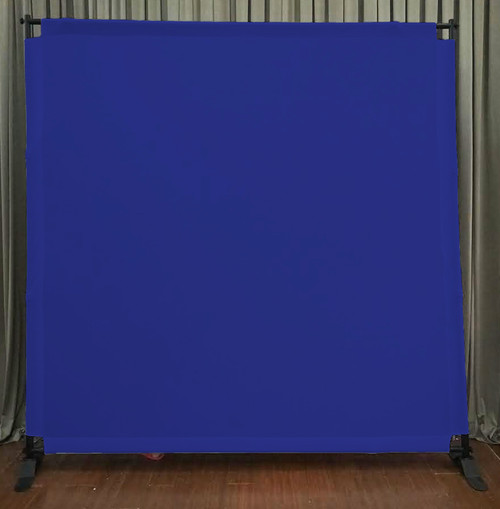 8x8 Printed Tension fabric backdrop - Royal Blue | PB Backdrops