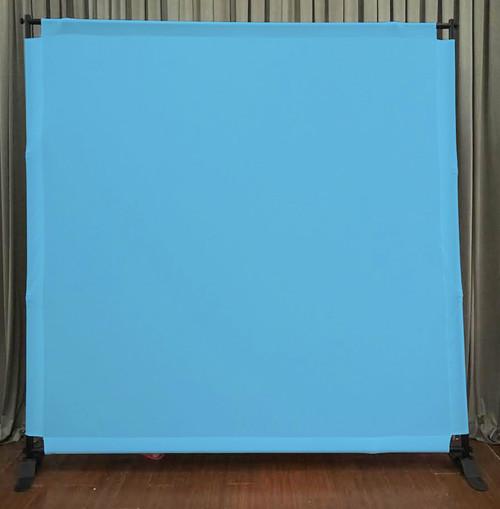 8x8 Printed Tension fabric backdrop - Light Blue | PB Backdrops