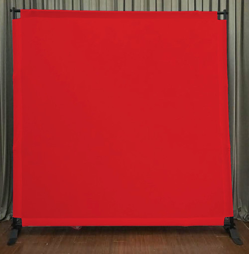 8x8 Printed Tension fabric backdrop - Red | PB Backdrops