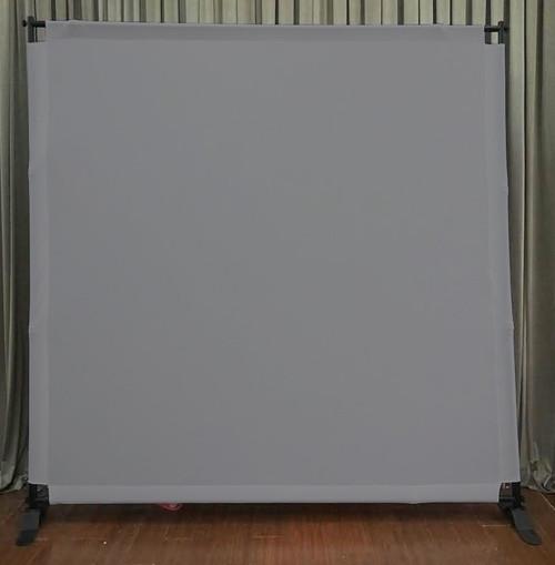 8x8 Printed Tension fabric backdrop - Grey | PB Backdrops