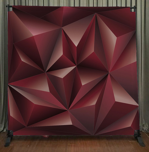 8x8 Printed Tension fabric backdrop - Geometric | PB Backdrops