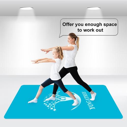 Custom Extra Large Yoga Mat