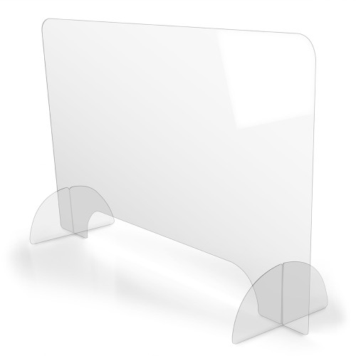 Acrylic Table Top Protective Shield (5 Pack)