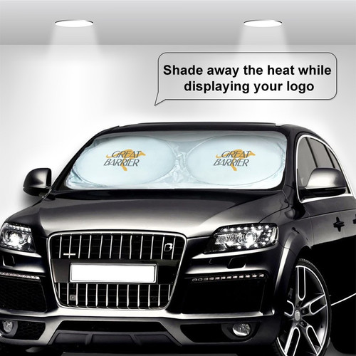 Collapsible Custom Car Sun Shade (Pack of 25)