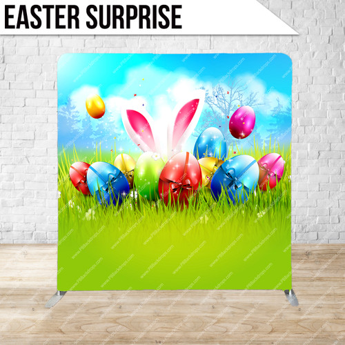 Single-sided Pillow Cover Backdrop  (Easter Surprise)