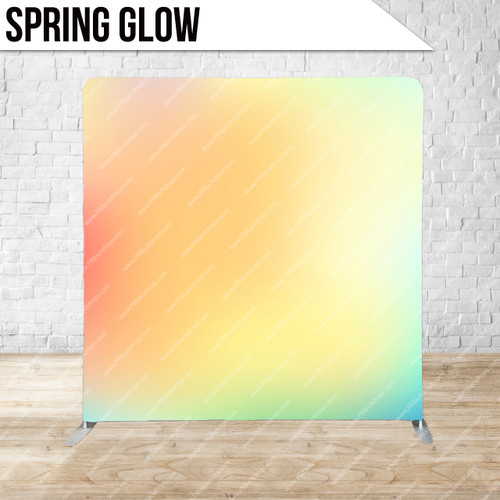 Single-sided Pillow Cover Backdrop  (Spring Glow)