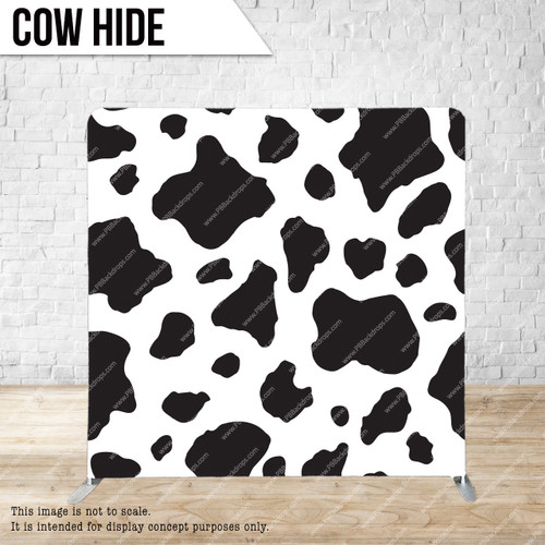 Single-sided Pillow Cover Backdrop  (Cow Hide)