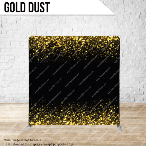 Single-sided Pillow Cover Backdrop  (Gold Dust)