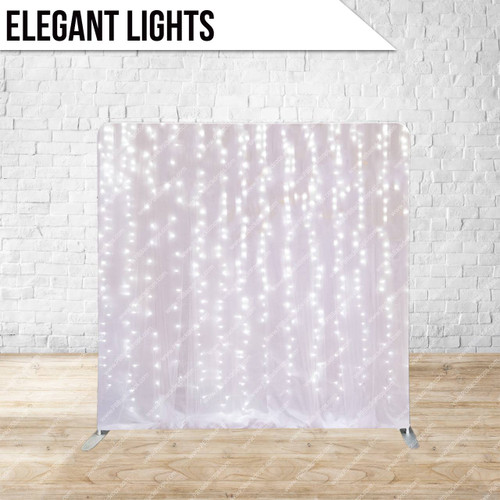 Single-sided Pillow Cover Backdrop  (Elegant Lights)