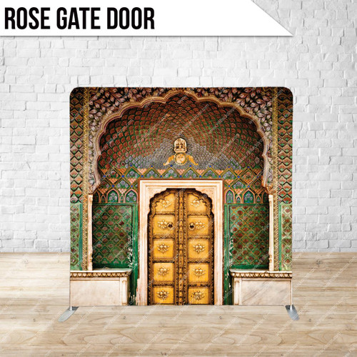 Single-sided Pillow Cover Backdrop  (Rose Gate Door)