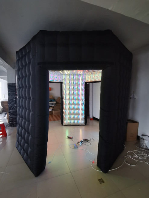 Inflatable Octagon 360 Enclosure with LED Lights