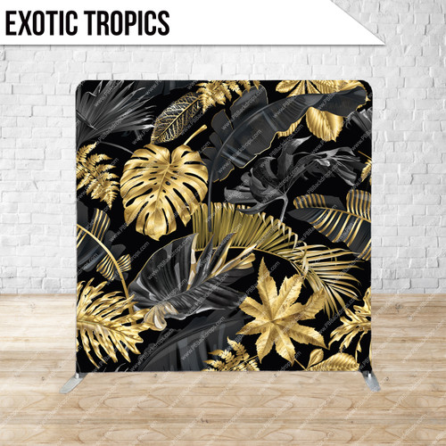 Single-sided Pillow Cover Backdrop  (Exotic Tropics)