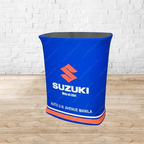 EZ Tube Counter & Customizable Wrap-Around Graphic