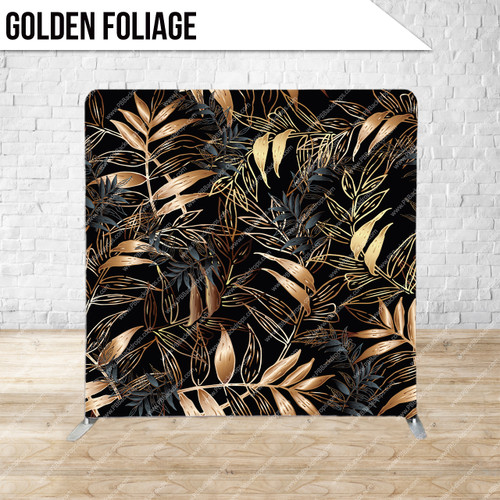 Single-sided Pillow Cover Backdrop  (Golden Foliage)