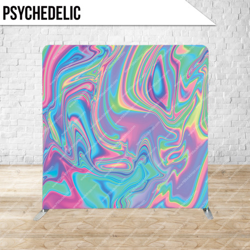 Single-sided Pillow Cover Backdrop  (Psychedelic)