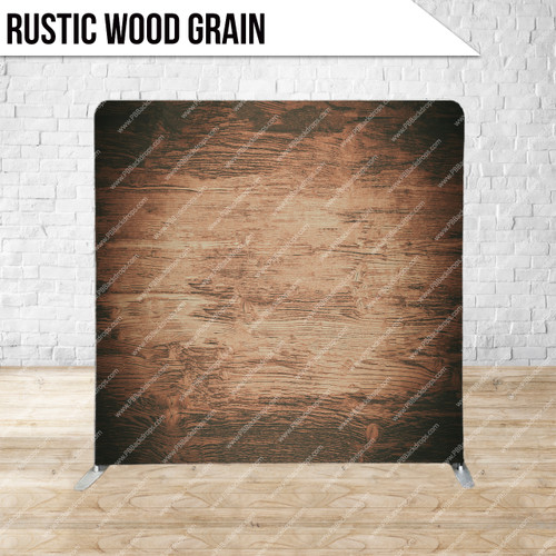 Single-sided Pillow Cover Backdrop  (Rustic Wood Grain)