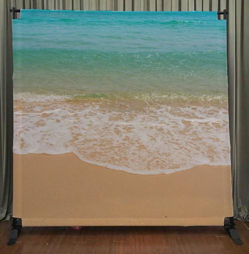 8x8 Printed Tension fabric backdrop - Beach Time | PB Backdrops