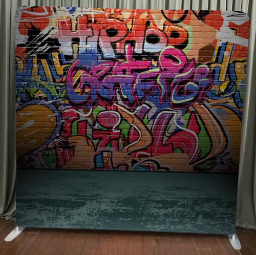 Single-sided Custom backdrop - Graffiti Wall | PB Backdrops