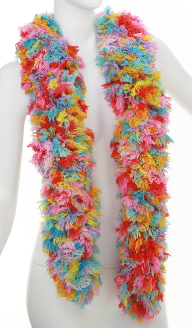 SUPER Sized Featherless Boa - - Bubble Gum | PB Backdrops