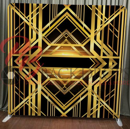 Single-sided Custom backdrop - Gatsby/Art-Decco | PB Backdrops
