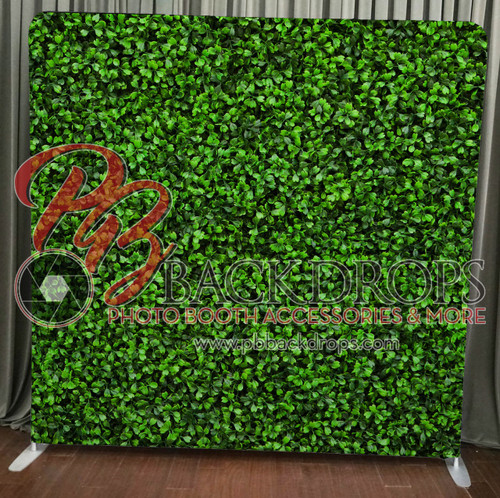 Single-sided Pillow Cover Backdrop - Hedge Wall | PB Backdrops