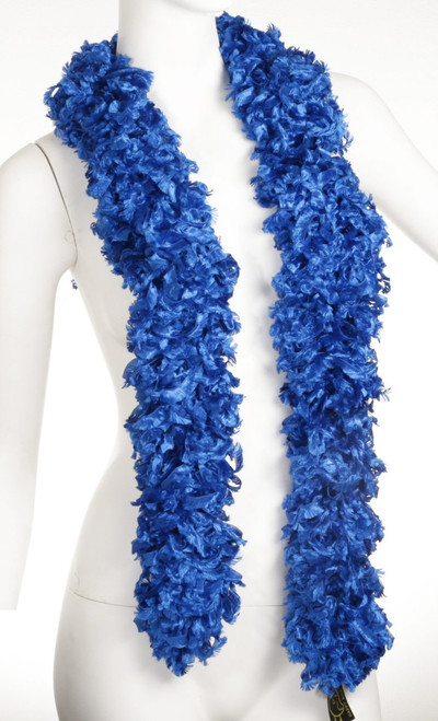 Original Featherless Boa - Blue | PB Backdrops