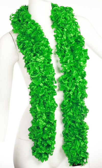 Original Featherless Boa - Green | PB Backdrops