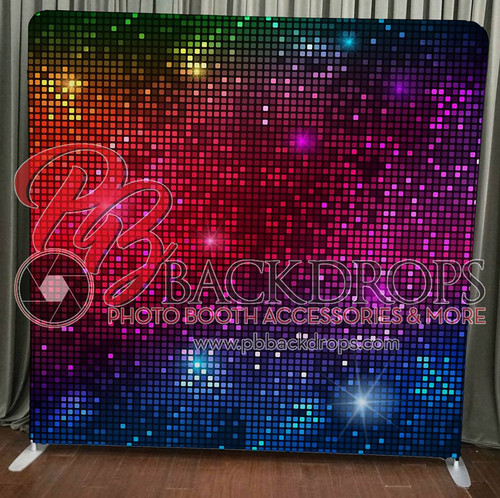 Single-sided Pillow Cover Backdrop - Disco | PB Backdrops