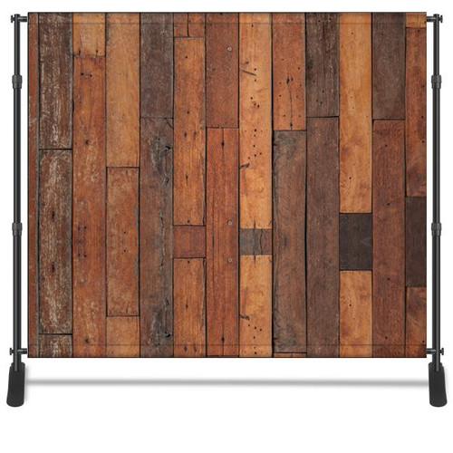 8x8 Printed Tension fabric backdrop - Rustic Wood | PB Backdrops