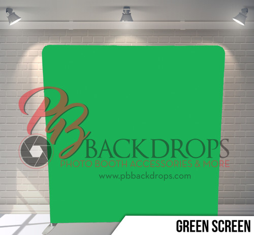 Single-sided Pillow Cover Backdrop  (Green Screen)